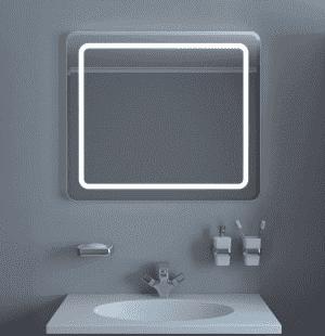 Зеркало Kaksa Кристалл 70 с подсветкой