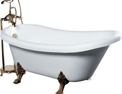 Акриловая ванна Gemy G9030 A 175 овальная 175x82