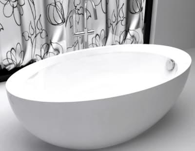 Акриловая ванна Gemy G9217 160 овальная 160x85