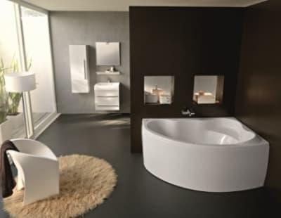 Акриловая ванна Kolpa-San Amadis NEW 160х100 L/R асимметричная 160 левая/правая