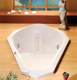 Акриловая ванна ALPEN SAMORA 163x139 75111