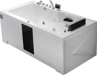 С гидромассажем акриловая ванна Gemy G9066 II K L 171 прямоугольная 171x86