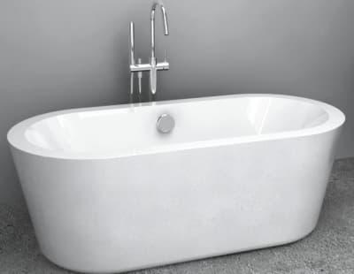 Акриловая ванна Gemy G9213 170 овальная 170x80